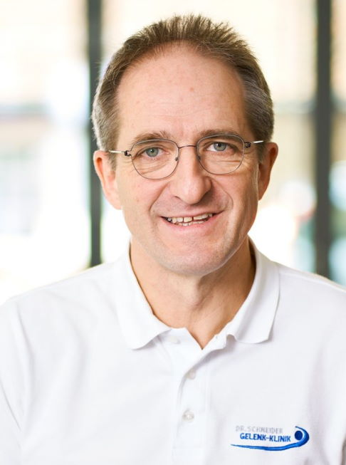 Dr med Thomas Schneider Orthopaedic Specialist, Consultant for Specialised Knee and Ankle, Hip and Shoulder Surgery