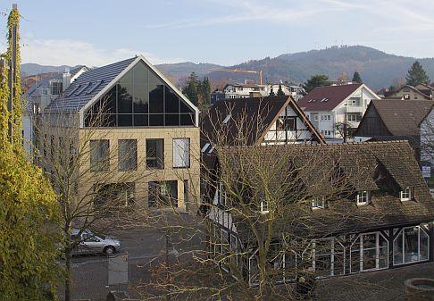 Внешний вид нового здания ортопедической Геленк-Клиники.