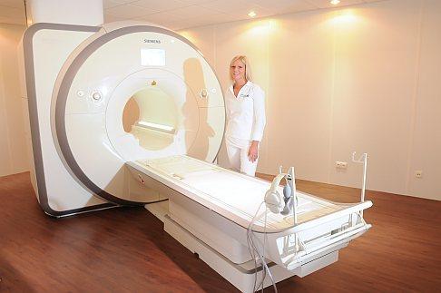 Современное МРТ ортопедической Геленк-Клиники в Гундельфингене. © Gelenk-Klinik