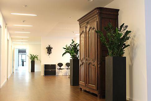 Внутренние помещения ортопедической Геленк-Клиники в Гундельфингине/Фрайбург. © Gelenk-Klinik