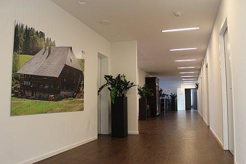Интерьер нового здания  ортопедической Геленк-Клиники.