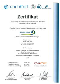 Certifié centre d'excellence en arthroplastie