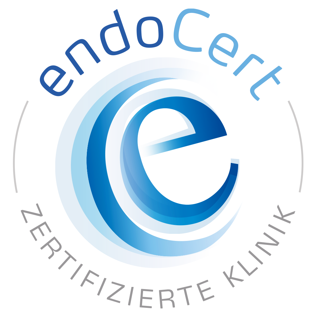 Endocert Logo Certified Centre for Endoprosthesis