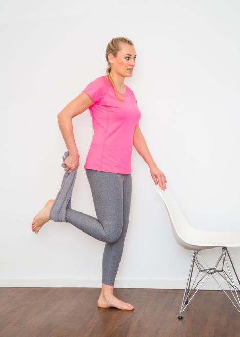 Übungen bei Kniearthrose
