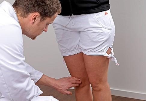 Kniegelenk und Unterschenkel