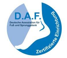 Orthopädische Gelenk-Klinik ist zertifiziert als Zentrum für Fuß- und Sprunggelenkchirurgie (ZFS)